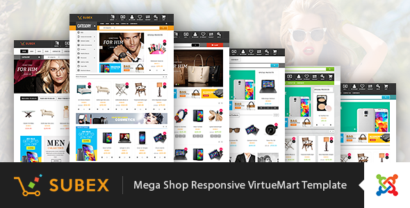 Vina Subex - Mega Shop Responsive VirtueMart Template - Fashion Retail