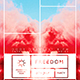 Freedom | Modern Minimalist Flyer PSD Template - GraphicRiver Item for Sale