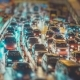 Night Traffic Jam In Big City - VideoHive Item for Sale