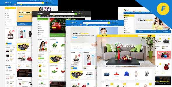 Flipmart - Responsive  Ecommerce Template - Shopping Retail