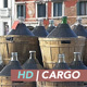 Glass Demijohns on Venice Canal - VideoHive Item for Sale