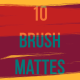 10 Brush Mattes - VideoHive Item for Sale
