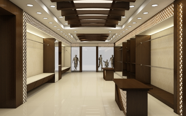 Realistic Textile Showroom 152 By Studioamar