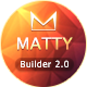 Matty - Responsive Email + MailBuild Online - ThemeForest Item for Sale