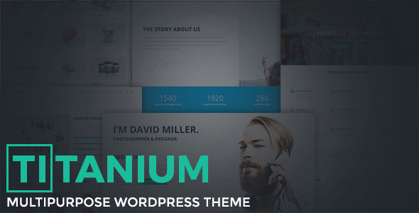 Titanium – Multipurpose WordPress Theme