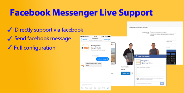 Magento 2 Facebook Messenger Live Support - CodeCanyon Item for Sale