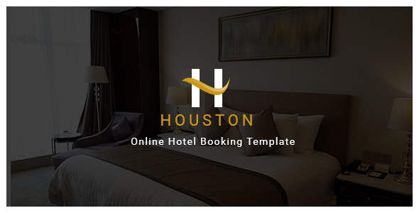 Houston - Online Hotel Booking Template - Retail Site Templates