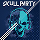 Skull Party Flyer - GraphicRiver Item for Sale