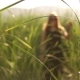 Girl Walking In a Field - VideoHive Item for Sale