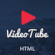 VideoTube - Responsive Mobile Template - ThemeForest Item for Sale