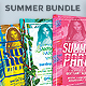 Summer Flyer Template Bundle - GraphicRiver Item for Sale