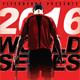 Tennis World Series Sports Flyer
