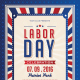 LABOR DAY CELEBRATION Flyer Vol. 4 - GraphicRiver Item for Sale