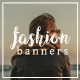 Instagram Fashion Banners - GraphicRiver Item for Sale
