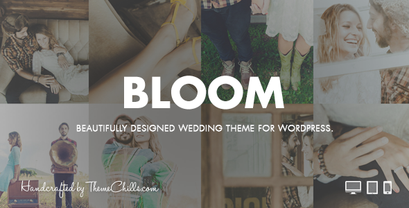 Image of Bloom | WordPress Wedding Theme