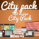 Flat Design City Pack - VideoHive Item for Sale