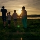 Family Walking Beach Sunset Travel Holiday - VideoHive Item for Sale