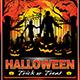 Halloween Flyer Template V19 - GraphicRiver Item for Sale