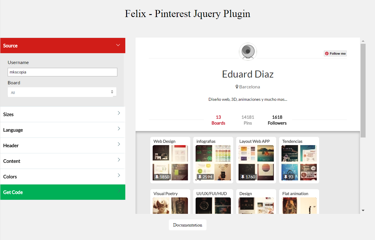 Jquery plugins to work with data presentation and grid layout - Screenshots Capture