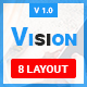 VISION-PSD Email Template - GraphicRiver Item for Sale