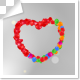 Floating Balloons Form Heart Shape Frame - VideoHive Item for Sale