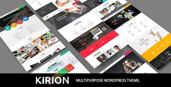 Image of Kirion - Multipurpose WordPress Theme