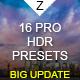 16 HDR Landscape Pro Presets - GraphicRiver Item for Sale