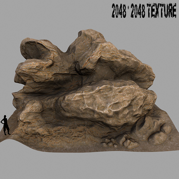 Mount_Rock - 3DOcean Item for Sale