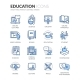 Line Education Icons - GraphicRiver Item for Sale