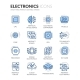 Line Electronics Icons - GraphicRiver Item for Sale