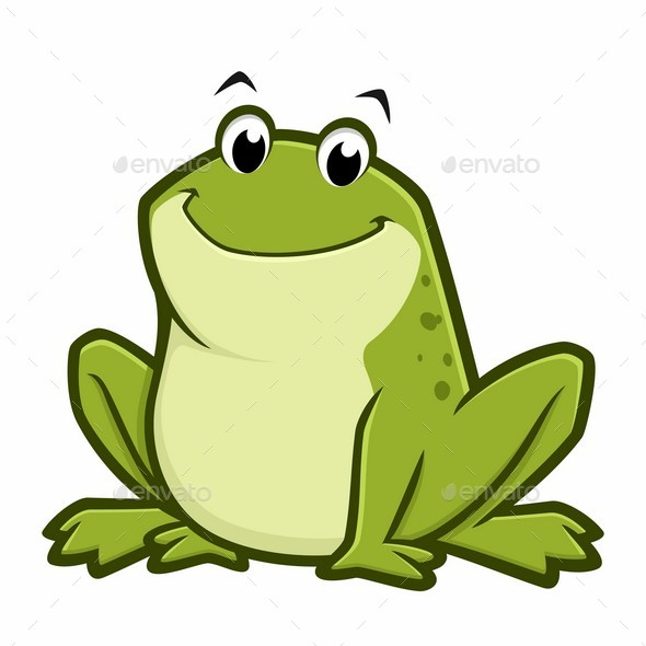 cartoon fat frog by mumut graphicriver