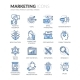 Line Marketing Icons - GraphicRiver Item for Sale