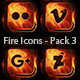 Fire Icons - Pack 3 - VideoHive Item for Sale