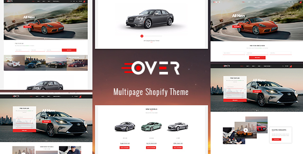 Ap Over Shopify Theme - Fashion Shopify