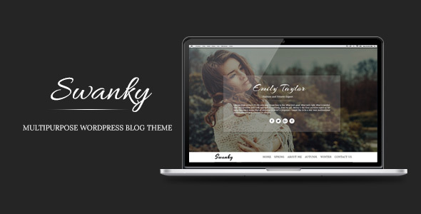 Swanky – Multipurpose WordPress Blog Theme