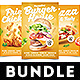 Pizza Chicken Burger Flyer Bundle - GraphicRiver Item for Sale
