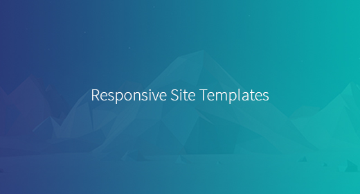 Responsive HTML Templates