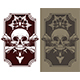 Awesome Tattoo Skull and Bones Set - GraphicRiver Item for Sale