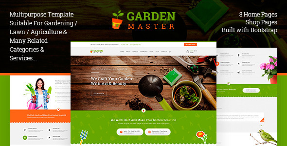 Garden Master - HTML Templates - Business Corporate