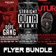 Gangsta Flyer Bundle | Futuristic Criminal Flyer PSD Template - GraphicRiver Item for Sale