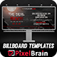 The Devil Moon Billboard Templates Vol. 2 - GraphicRiver Item for Sale