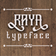 Raya Font - GraphicRiver Item for Sale