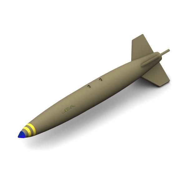 Mk-84 Slick aircraft bomb