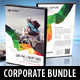 4 in 1 Corporate Business DVD Covers Bundle