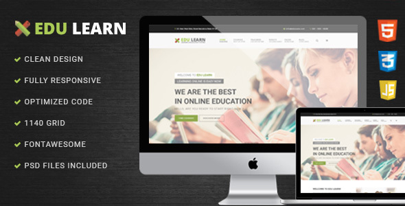 EduLearn – Education, School & Courses HTML Template