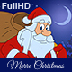 Merry Christmas Animated Card - VideoHive Item for Sale