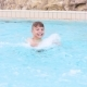 Happy Boy In Pool - VideoHive Item for Sale