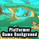 2D Platformer Nature Game Background with Tile Sets & Objects - GraphicRiver Item for Sale