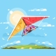 Man On a Hang Glider - GraphicRiver Item for Sale