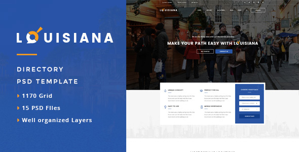 Louisiana - Responsive Directory WordPress Theme